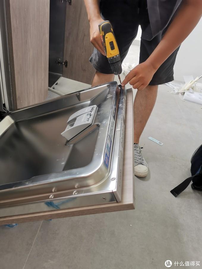 西门子洗碗机安装全过程记录