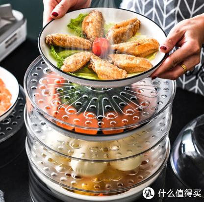 便宜实惠的居家好物—京东商城入手的透明带透气孔多功能食物罩