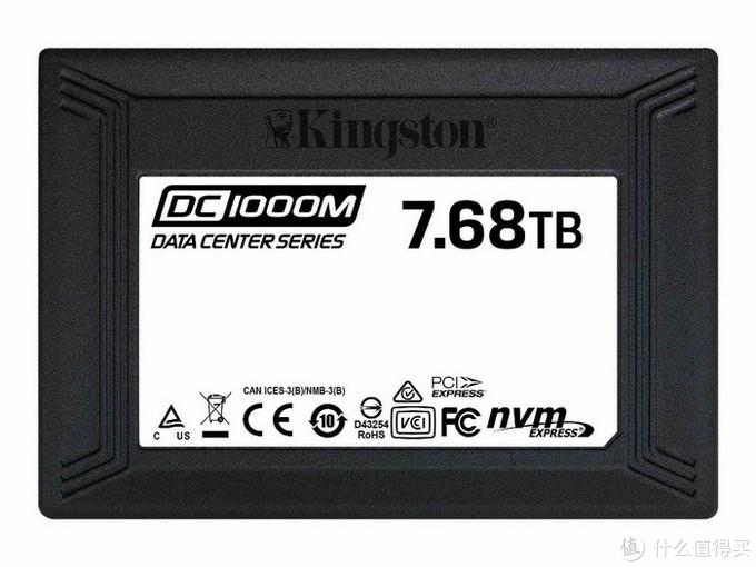 金士顿发布DC1000M U.2 SSD:容量高达7.68TB,承诺1DWPD/5年耐用性