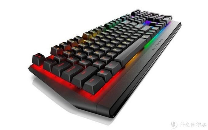 搭Cherry RGB红/茶轴:Alienware外星人 发布AW410K游戏键盘