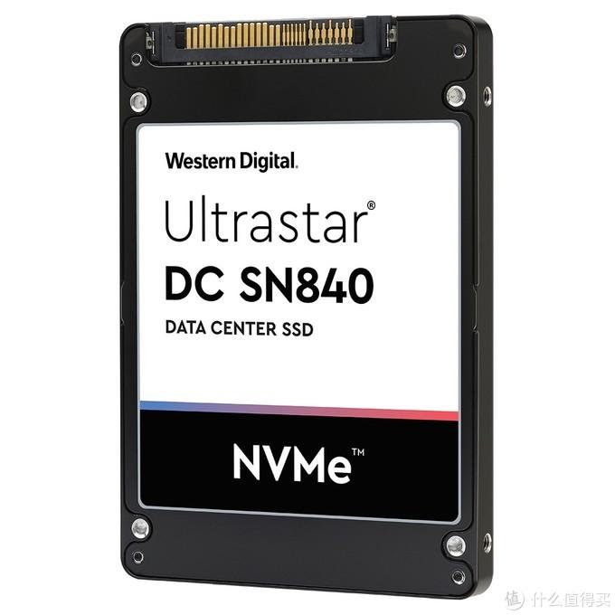 WD西数发布Ultrastar DC SN840 SSD:双接口15.36TB