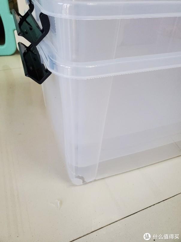 京东卖的好不如京东售后好:禧天龙 X-6320 可视收纳箱55L 开箱
