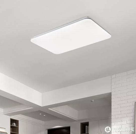 慧作新品白羊星Pro吸顶灯纤薄设计,可连接米家APP