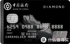 长城银联钻石信用卡(0063)