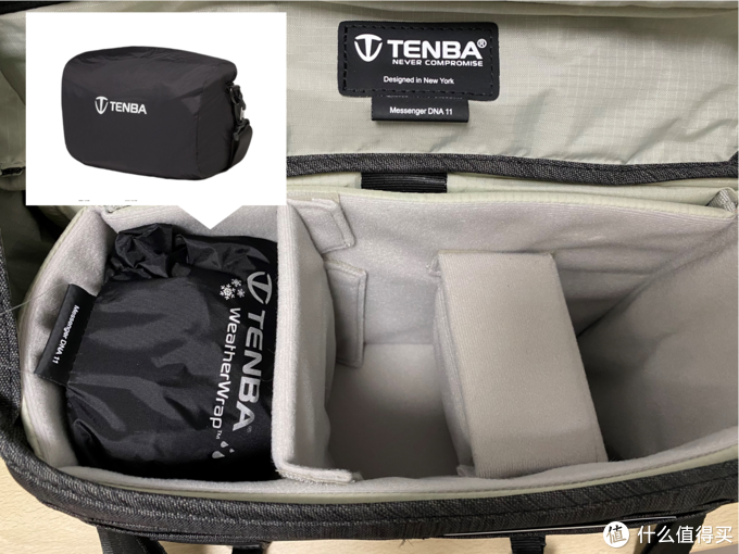 细节独特,做工出色——TENBA DNA11信使系列单肩包