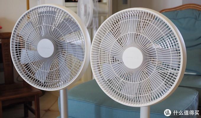 左:智米一代;右:智米二代