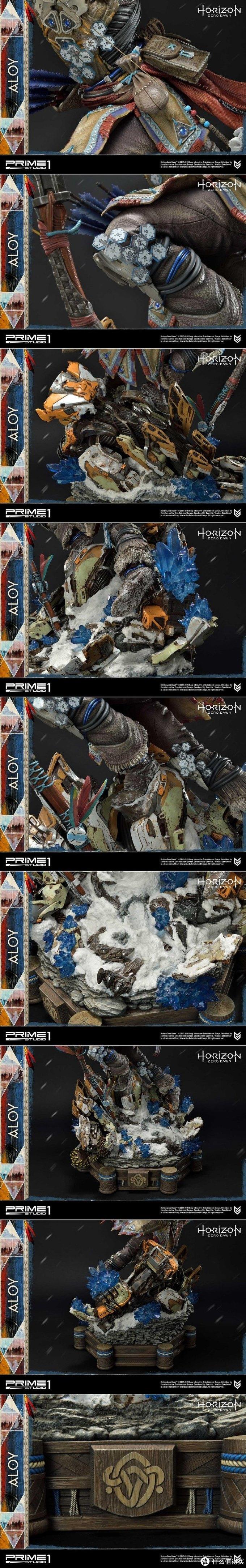 玩模总动员:《地平线 零之曙光》1/4 阿洛伊、追踪者雕像公开!