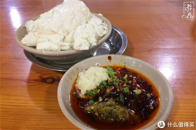重庆人吃豆花饭就只有豆花?一份烧白再炒盘空心菜,简直太完美