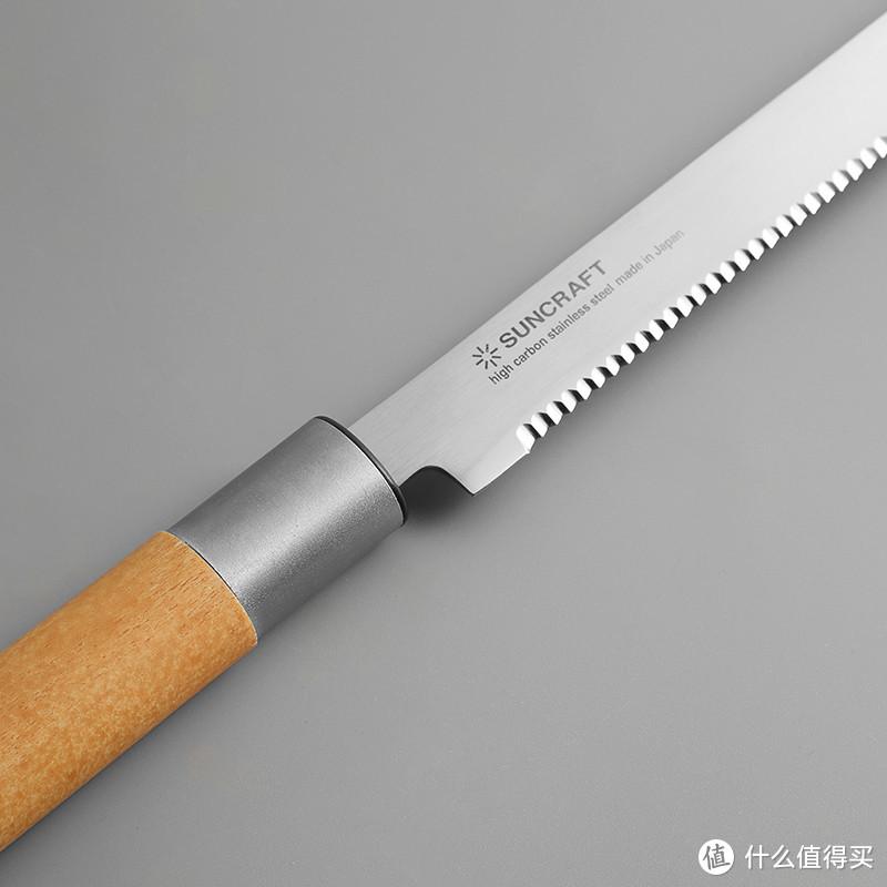 为了吃面包,我特意买了这把刀