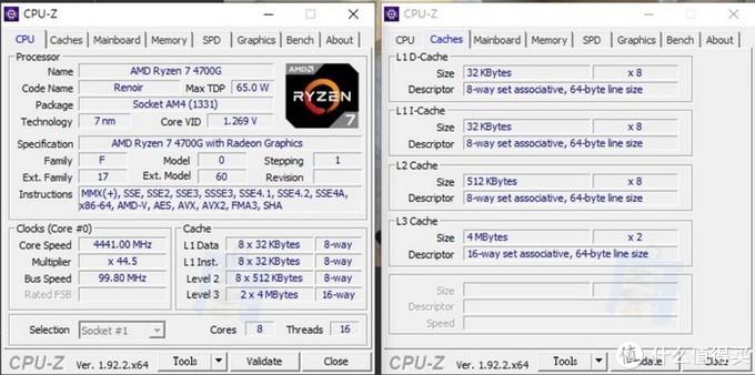AMD Ryzen 7 4700G正式版真容曝光、规格确认,可兼容B450