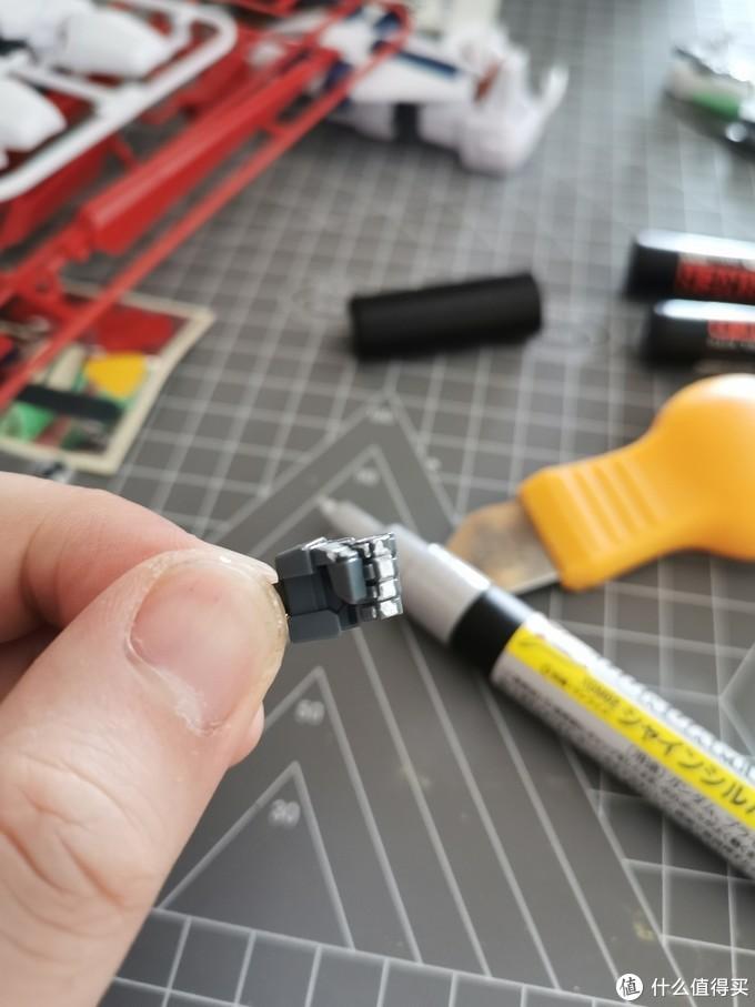 这个HG版高达点都不简单,HG版RX-104FF佩涅罗佩喷涂拼装作业