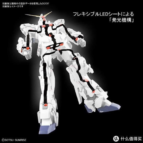 BANDAI 万代 MGEX 1/100 独角兽高达 Ka版 卡版发光觉醒绿 拼装