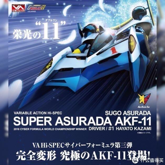 玩模总动员:MegaHouse公布Hi-SPEC系列《高智能方程式》超级雷神AFK-11