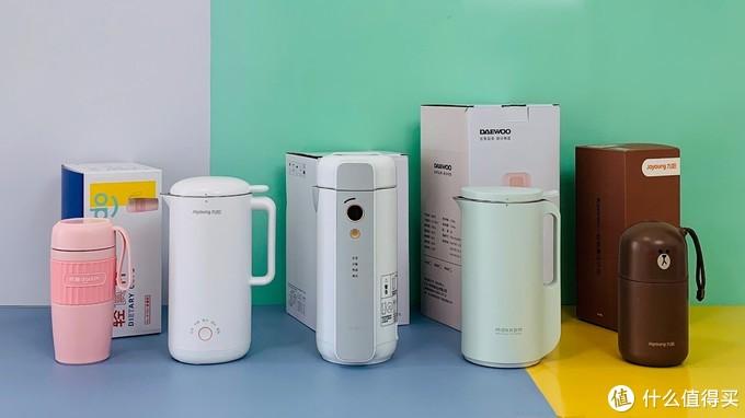 """豆浆机、破壁机、料理机怎么选?5款机型+12项测试+27组数据,带你""""破""""解真相,夏日饮品不重样"""