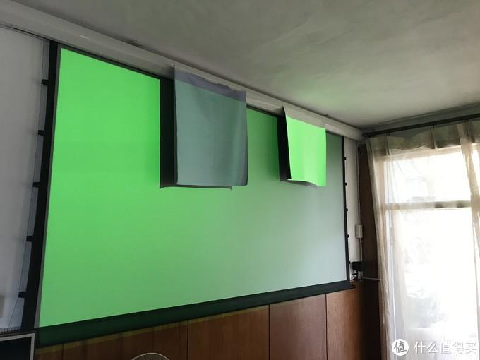 升级抗光拉线幕 —— 反光布 白玻纤详细对比