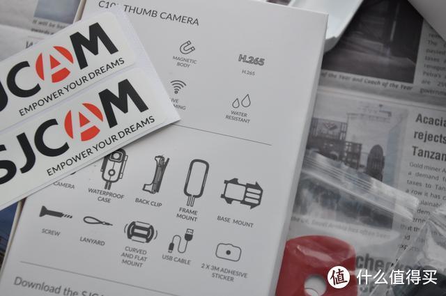 SJCAM C100拇指相机-记录生活中点滴时刻
