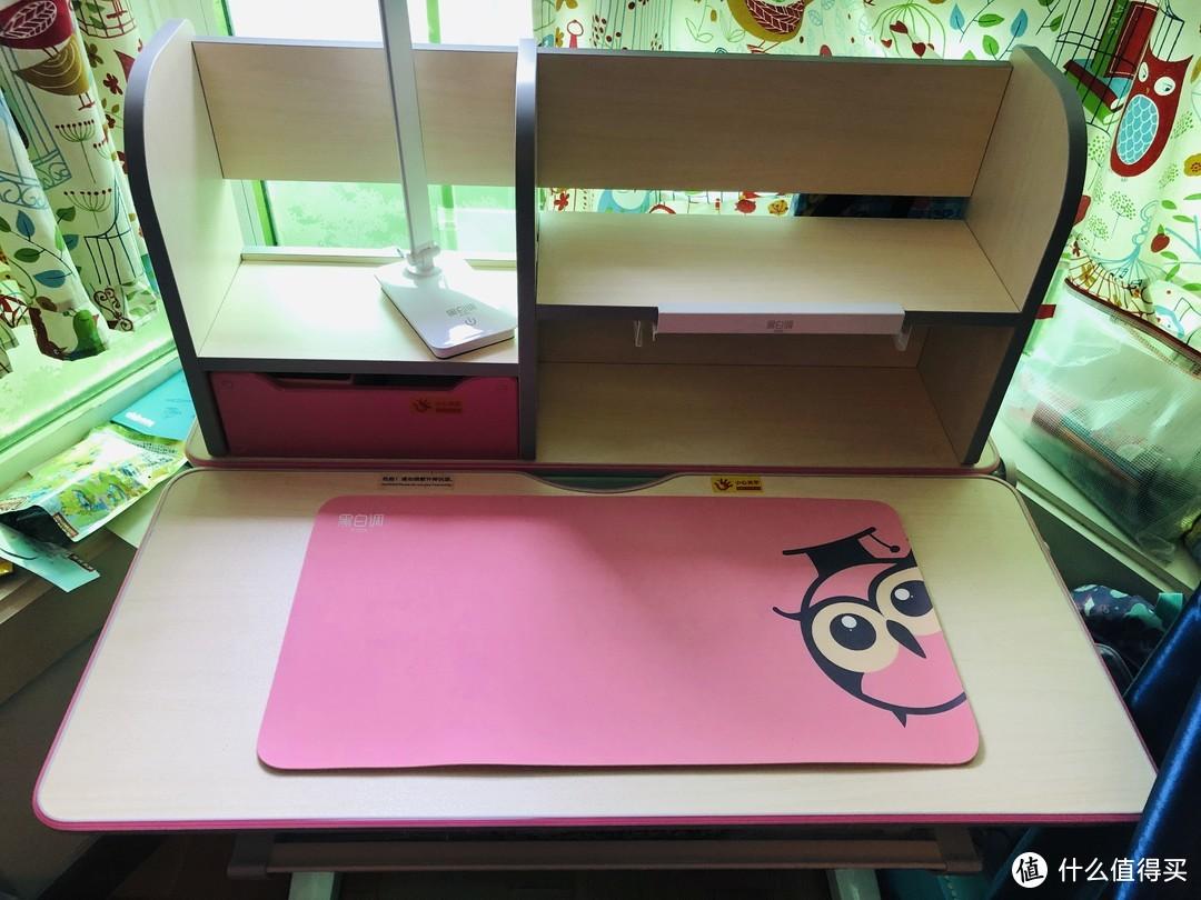 爱上这一平米学习区--黑白调儿童书桌椅套装晒单
