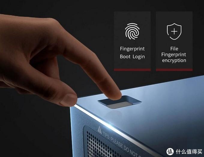 零刻Beelink GT-R迷你主机:指纹识别、语音操控、双风扇、双千兆LAN、支持四路显示