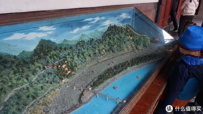 原来是都江堰的模型,有助于理解