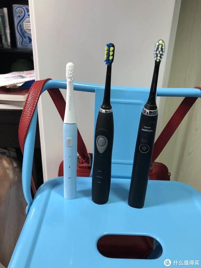 五彩斑斓的云洁声波电动牙刷