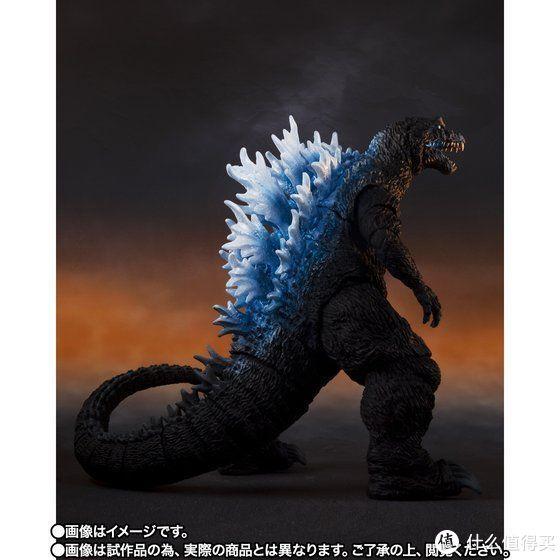 玩模总动员:万代魂公布S.H. MonsterArts系列新作品,Godzilla 哥斯拉(2001) 放射热线Ver.