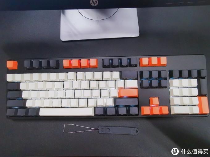 RKK104plus机械键盘黑轴(不专业不负责)评测