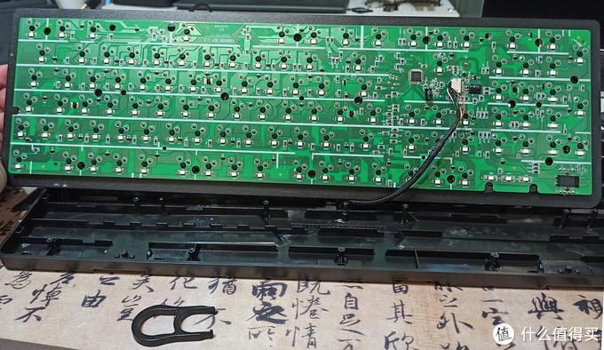HP K10G 机械键盘 到手即拆机维修小记