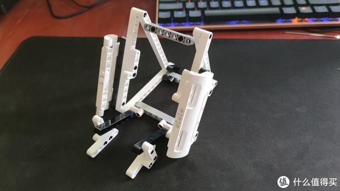 利用米家积木自制无线充立式支架