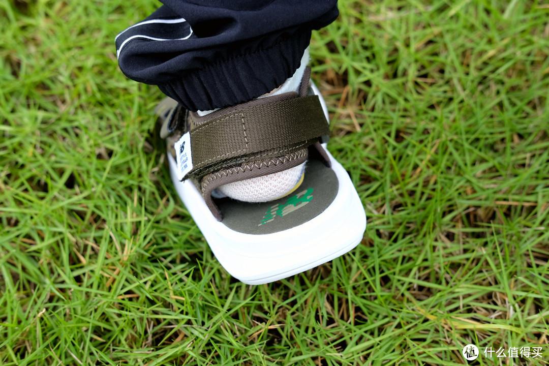New Balance 魔术贴运动凉鞋KS750 到手体验