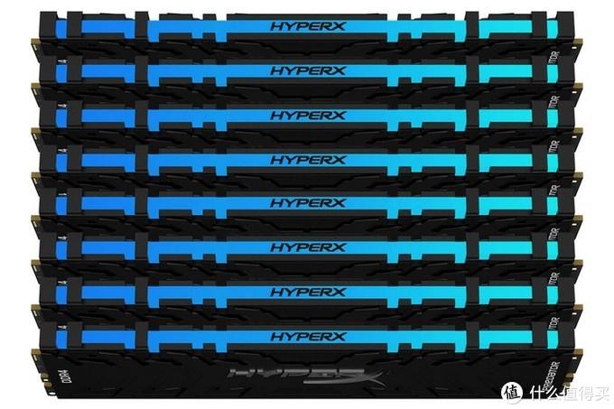 最高4800MHz、256GB容量:金士顿旗下HyperX Predator RGB和FURY、FURY RGB三大系列齐更新