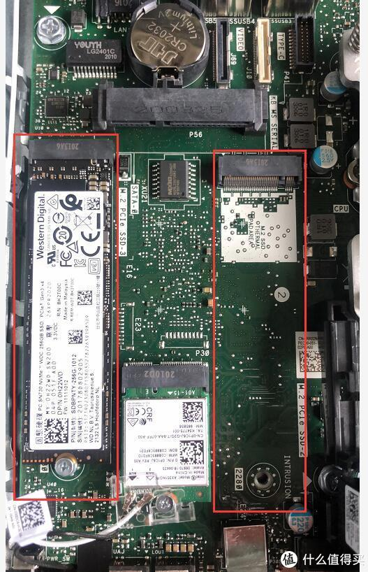 2个M.2 NVME固态盘位,1个2.5英寸,扩展性能很强悍