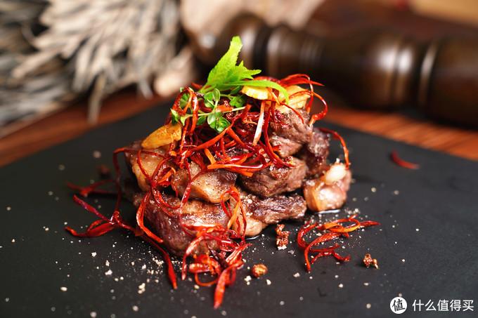 三椒牛肉粒