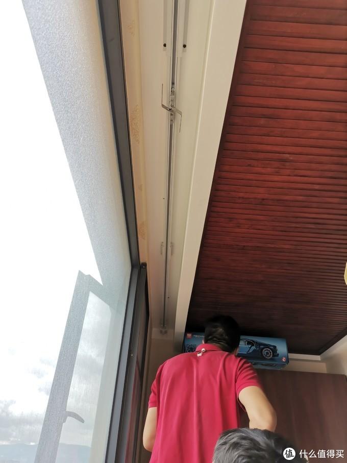 """""""因祸得福""""----一窗变两窗,米家智能窗帘安装使用报告"""