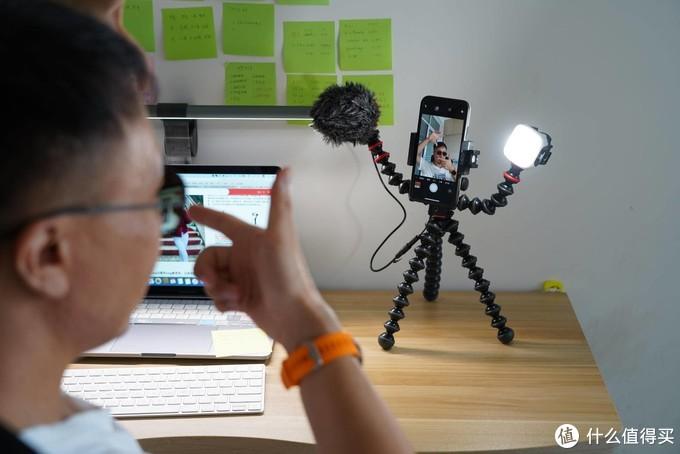 宙比Joby GorillaPod Mobile Vlog播客套装 比想像中要强大