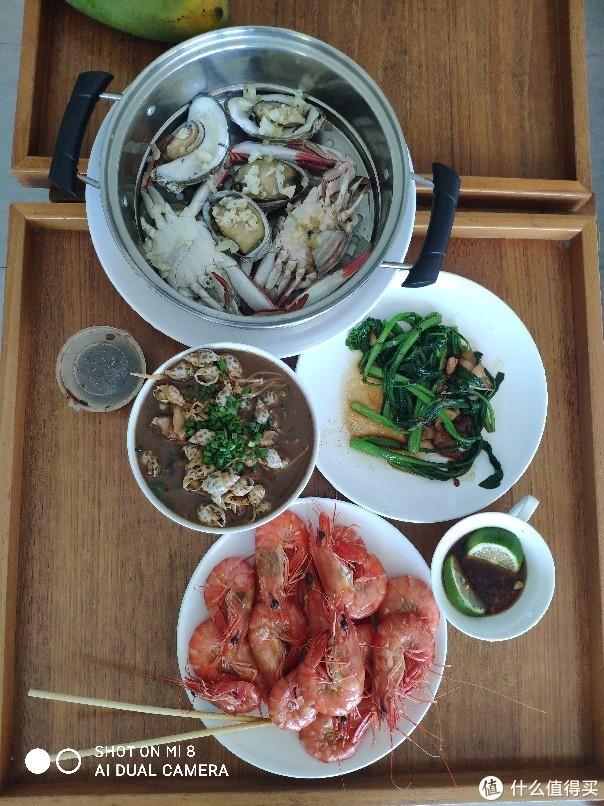 虾按大小35到45一斤,味道不错