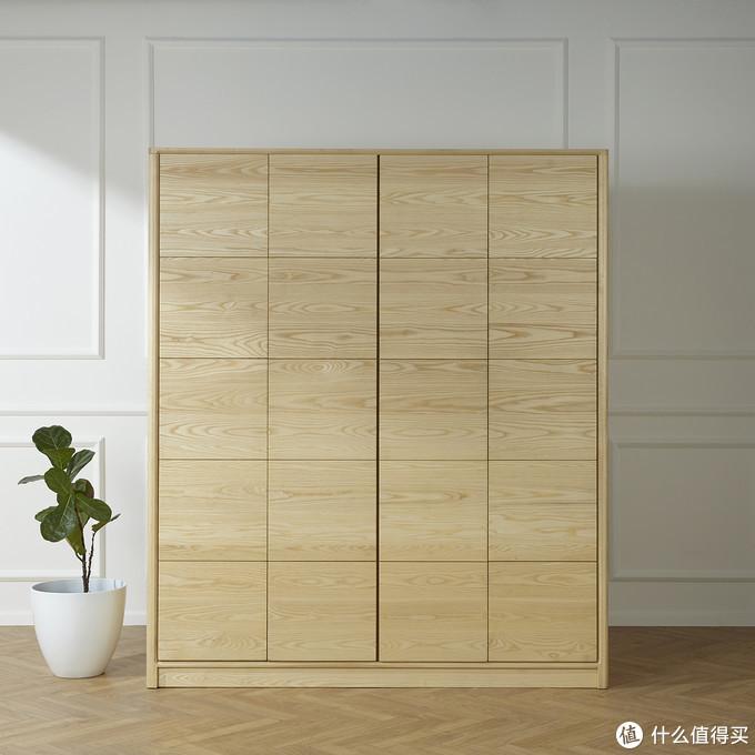 逸刻衣柜,完美的拼板