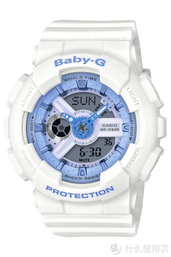 卡西欧Baby-G GA-110BE-7A海洋之心