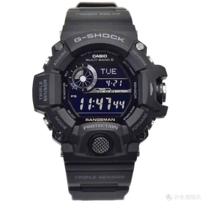 GW-9400-1BDR黑猫,全黑反显真的帅!