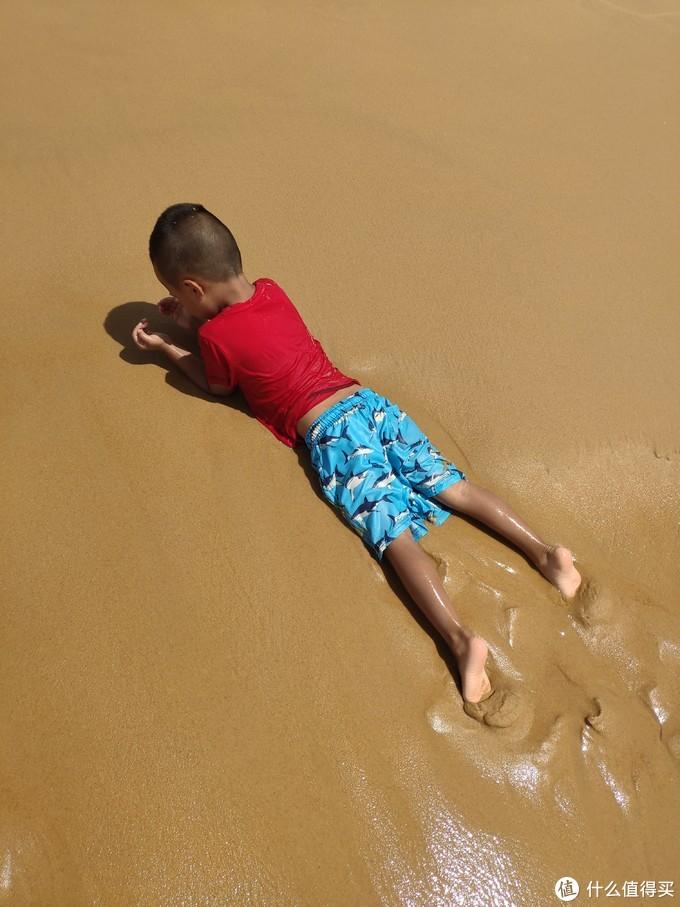 沙子细到贝壳都难找