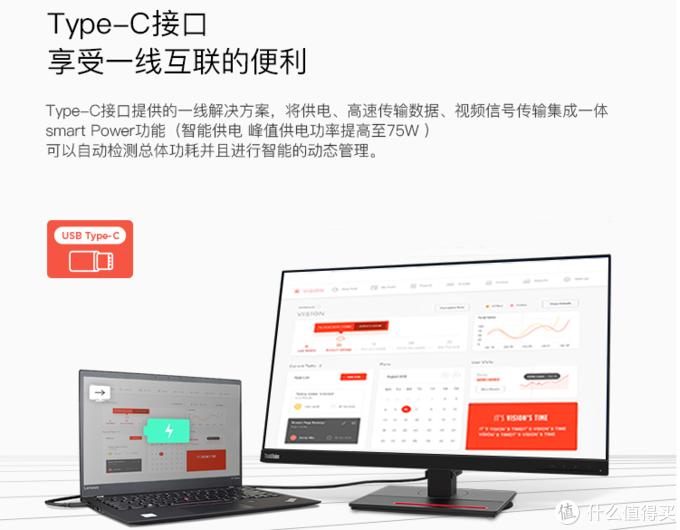 大屏就是生产品!联想ThinkVisionT32h-20显示器开箱简评