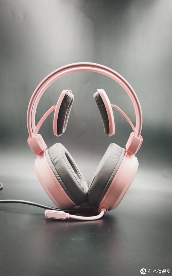 不会打游戏就影响我用电竞耳机吗?雷柏VH610游戏耳机简评