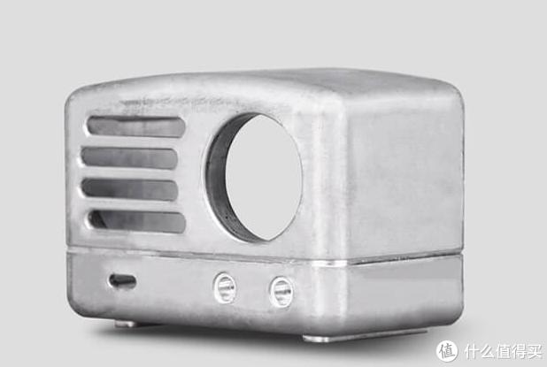 复古合金便携式收音机+蓝牙音箱,猫王小王子OTR用颜值打动了我