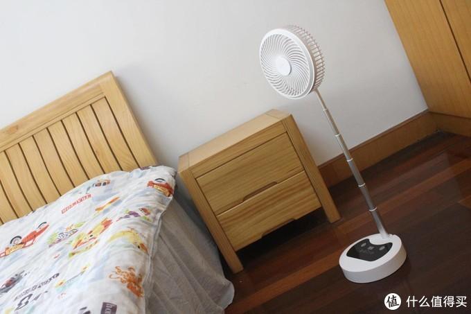 炎炎夏日不可耐,徐徐凉风拂面来——AK静音伸缩折叠电风扇