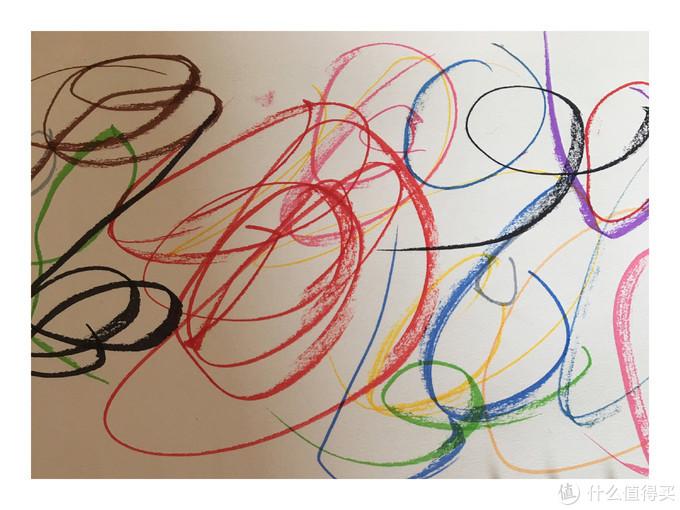 豌豆用水彩笔画的线条