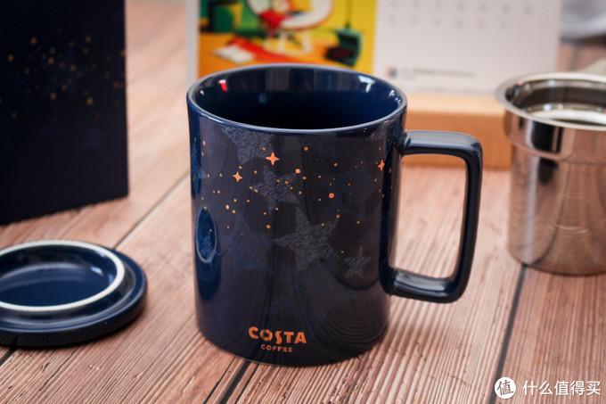 买个杯子感受轻奢?COTSTA星辉相映马克杯简晒