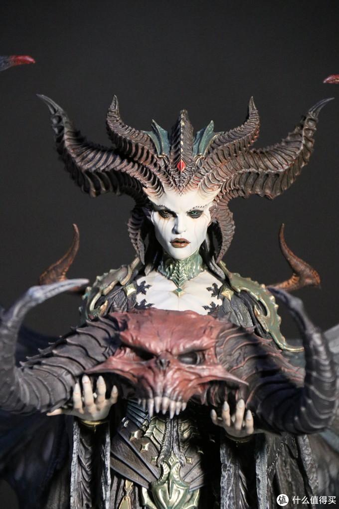ChinaJoy2020:暴雪展台上的《暗黑4》莉莉丝雕像,值得买首秀