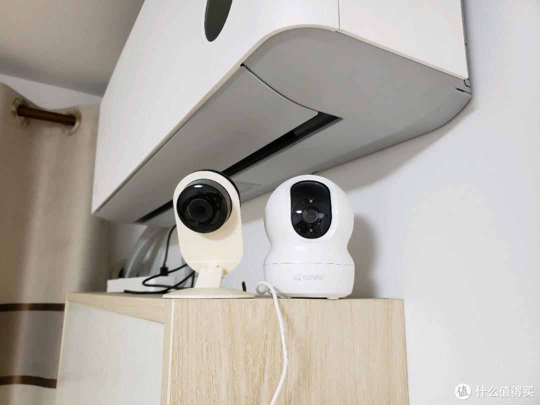 纯监控摄像头还是推荐海康威视,萤石cp1入手小测