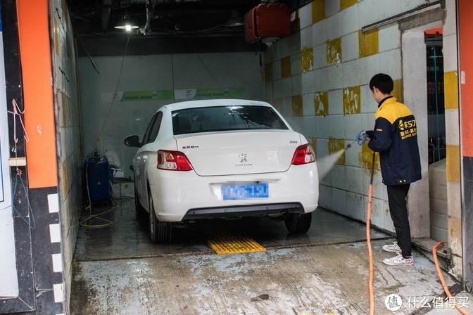 洗车高压水枪直冲测试,没有问题。