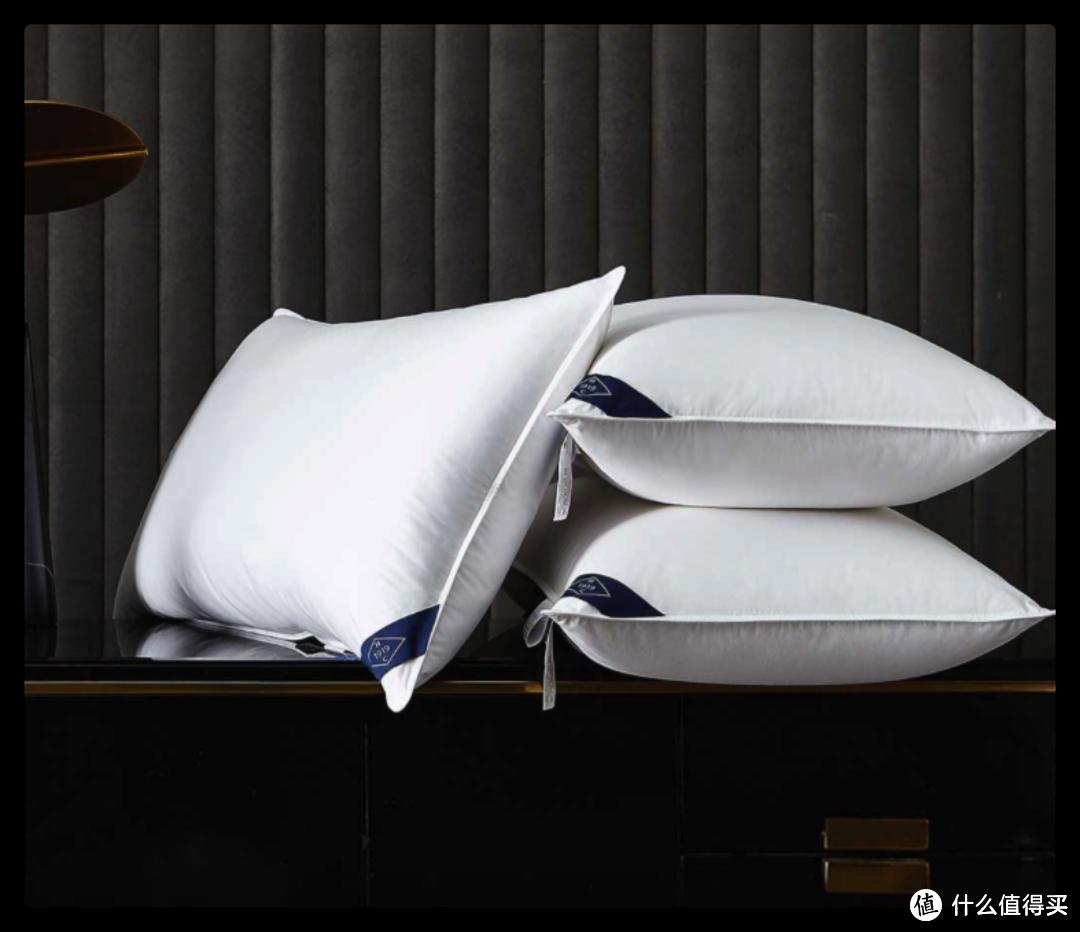 五星级的放松享受~世茂希尔顿款95%羽绒枕芯新品上市,直降100元