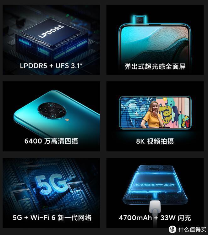 Redmi K30 Pro新增星河银配色,7月30日10点全网开售